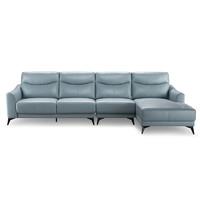 15日0点:ZUOYOU 左右 ZY2020 真皮客厅沙发 转二件 2.55m
