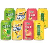 康师傅 冰红茶混合罐装饮料 310ml*8听