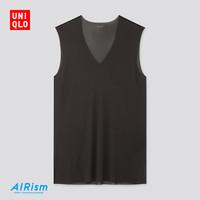 UNIQLO 优衣库 423526 男装AIRism网眼V领T恤