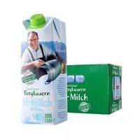 (限河北)奥地利进口 萨尔茨堡(SalzburgMilch)  脱脂 纯牛奶 1L*12 整箱装 0.5%乳脂肪含量 *3件