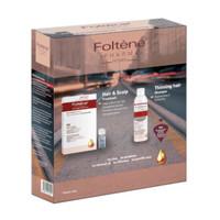 银联返现购:Foltène 丰添 女士洗护套装(防脱洗发水 200ml+ 健发固发精华液 100ml) *3