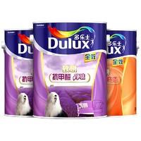 历史低价:Dulux 多乐士 致悦抗甲醛全效1  (白色、18L)