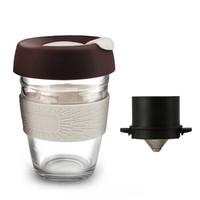 移动专享:文寻 手冲咖啡杯套装 滤网+玻璃杯