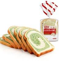 达利园 美焙辰 红豆抹茶吐司面包 300g*2包