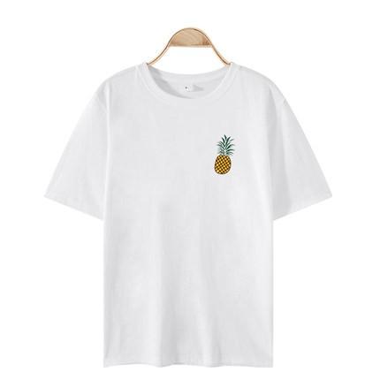 谷子沫 001 女士纯棉短袖T恤
