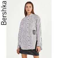 Bershka 00694880060 女士条纹衬衫