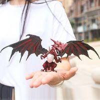 移动专享:衾美  魔幻恐龙塑胶模型 赤炎翼龙   2个装
