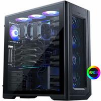 新品发售:PHANTEKS 追风者 PK620 钢化玻璃版 双系统 机箱