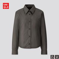 UNIQLO 优衣库 U系列 426147 女士衬衫式夹克