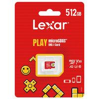 百亿补贴:Lexar 雷克沙 microSDXC A2 UHS-I U3 TF存储卡 512GB 任天堂主机专用