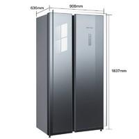SIEMENS 西门子 KA50SE43TI 对开门冰箱