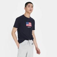Gap 盖璞 540430 男装印花短袖T恤