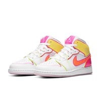 AIR JORDAN 1 MID EDGE GLOW GS CV4611 大童运动鞋
