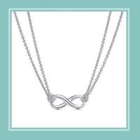 Tiffany&Co. 蒂芙尼 30319591  8字形纽结双链项链