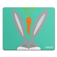 京东PLUS会员: EXCO 宜适酷 萝卜兔 鼠标垫 280*220*3mm