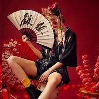 宫蝶 GD-20Q179 女士薄款冰丝睡衣