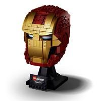 LEGO 乐高 超级英雄系列 76165 钢铁侠头盔