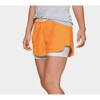UNDER ARMOUR 安德玛 1321259 女子假两件运动短裤