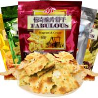 AJI 脆片薄饼干组合 200g*4袋(蔬菜1包+起士1包+泡菜1包+洋葱1包)