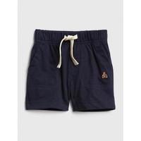 Gap 盖璞 小熊刺绣休闲运动短裤