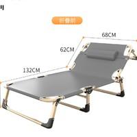 艾臣 AC-112 多功能单人折叠床 标准三角加固款