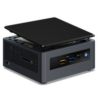 intel 英特尔 NUC迷你电脑主机 深红峡谷(i3-8121U、8GB、1TB、Radeon 540)