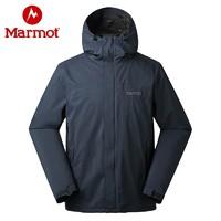 历史低价:Marmot 土拨鼠 R50180 男士单层冲锋衣