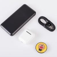 JIWU 苏宁极物 尊享礼盒套装(MFI数据线+10000mAh移动电源+真无线耳机)