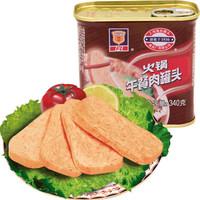 上海梅林 火锅午餐肉罐头 340g *10件