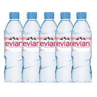 百亿补贴:Evian 依云 天然纯净矿泉水 粉色英文版 500ml*5瓶