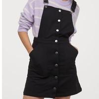 H&M 0821046 女士背带连衣裙
