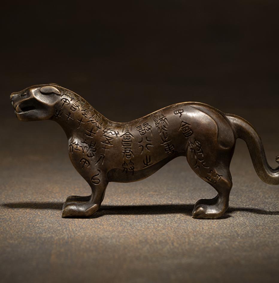 銅師傅  虎符擺件 限量版 家居飾品