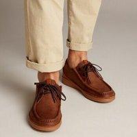 clarks 其乐 Oakland Seam 261354057 男款休闲鞋
