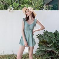6日0点:Aimuhu 艾慕狐 N0288 女士裙式泳衣