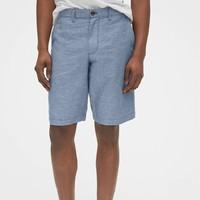再降价:Gap 盖璞 544806 男士亚麻短裤
