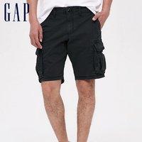 历史低价:Gap 440760 男士工装短裤
