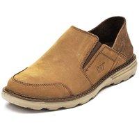 4日10点:CAT Rugged 男士牛皮革一脚蹬休闲鞋