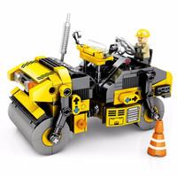 森宝积木 工程车系列  701201双钢轮压路机