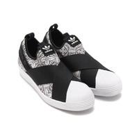考拉海购黑卡会员:adidas 阿迪达斯 SUPERSTAR SlipOn 中性款运动休闲鞋 *2件