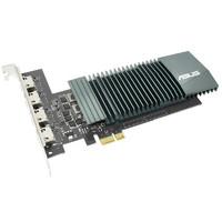 华硕(ASUS)GT710-4H-SL-2GD5家用办公分屏独立显卡 支持4屏输出