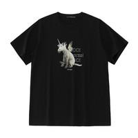6日0点:PEACEBIRD MEN 太平鸟 ONWARD系列 独角兽胶印T恤