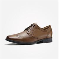 京东PLUS会员:Clarks 其乐 Tilden Wing 261462198 男款布洛克皮鞋