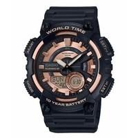 CASIO 卡西欧 AEQ110W-1A3V 男士手表 *3件