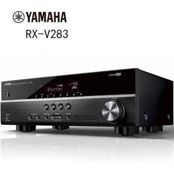 雅马哈(YAMAHA)RX-V283 新款进口 dsp数字5.1声道AV功放机 支持4K杜比DTS 家用家庭影院音响大功率音箱