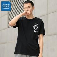 JEANSWEST 真维斯 JW-01-173TB588 男士印花T恤