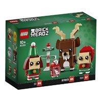 百亿补贴:LEGO 乐高 方头仔系列 40353 驯鹿和圣诞精灵