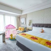 杭州城中香格里拉大酒店欢趣城中游家庭客房1晚套餐(含双早+欢迎水果+spa现金抵用券)