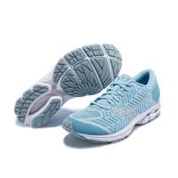 限尺码:Mizuno 美津浓 WAVEKNIT R2 缓震系列 女士透气慢跑鞋