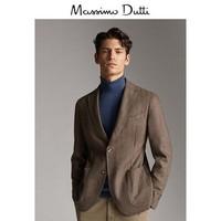 Massimo Dutti 02054265710 男士羊毛和山羊绒西装