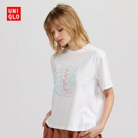UNIQLO 优衣库 Brands Tea Time 429759 女士印花T恤